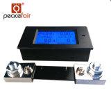 Contador de Digitaces de la energía de la potencia del amperímetro del voltaje de la C.C. 6.5-100V 4in1 LCD de Pzem-051 100A