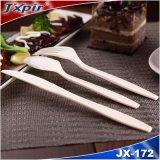 Wegwerfplastiktischbesteck-Satz, Plastiklöffel-Gabel und Messer, Soem Verpacken