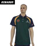 Chemises de polo bon marché faites sur commande de coton de Mens de qualité de la Chine avec le logo de broderie