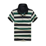 Camicia di polo con lo Spandex 180-190G/M2 del piquè 95% Cotton/5% della banda