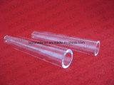 Bailo hidroxilo de baja resistencia a la corrosión de cúpula transparente funda de cristal de cuarzo.