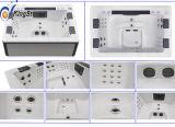 美しいLEDの軽い高品質涼しい様式の温水浴槽Jcs-81