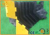 Qualidade durável 5 canais flexíveis de borracha forte rampa de cabo