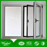 Il prezzo di fabbrica lustrato doppio tutti i generi di finestra per il progetto, spolverizza la finestra rivestita della lega di alluminio