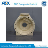 SMC en el exterior del molde para el moldeo de tubo conector del cable de la parte