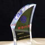 De nieuwe Trofee van het Kristal van de Plaque van het Kristal van de Stijl Optische Toekenning Gekleurde