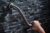 En la pared de acero inoxidable 304 de la barra de agarre de baño