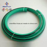 Mangueira de ar flexível do PVC da alta pressão com encaixes de bronze