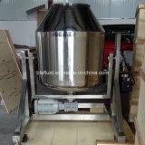 China proveedor acero Azúcar Lustre y leche en polvo descremada Reactor giratorio