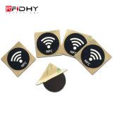 로고에 의하여 인쇄되는 RFID 13.56MHz Hf Ntag216 NFC 꼬리표