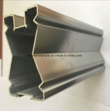Quadrat, rundes, unterschiedliches Aluminiumlegierung-Strangpresßling-Profil für Tür und Fenster-Gefäß 6