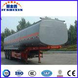 Del tanque del carro acoplado semi para transportar los combustibles refinados