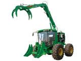 Les machines agricoles la canne à sucre Grab Chargeur à roues