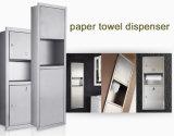 Dispensador de la toalla de papel del acero inoxidable de Inox