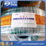 Mangueira flexível reforçada fibra da mangueira do PVC