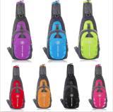 남자 여자 나일론 작은 가슴 부대 옥외 운동 여행 어깨에 매는 가방 새총 책가방