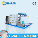 машина льда хлопь 1000kg с свежей водой использующ в обрабатывать рыбозавода и мяса