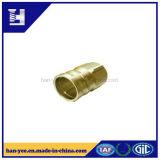 Sujetador tubular del paso de progresión de acero/de cobre amarillo para el tubo