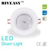 7W LED Down Light Downlight Iluminação Branco Ce e RoHS LED Ceiling