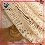 Polyesterspandex-strickendes Massenspitze-einschlaggewebe für Verkauf