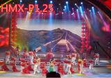 Visualizzazione di LED dell'interno esterna portatile/schermo locativo del video LED colore completo per gli eventi, esposizioni (P1.25, P4, P5, P6)