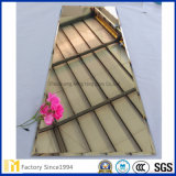 espejo de plata de vestido 5m m barato de la hoja de 3m m 4m m Frameless