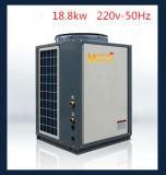 18.8セリウム、CB、IEC、En14511のSasoのヒートポンプシステムが付いているKw/55Hz/60Hzの暖房そして熱湯