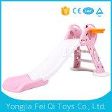 Juguete plástico del patio del cabrito de la diapositiva plástica de interior del juguete para los cabritos