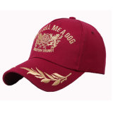 Новый стиль 3D Embroiderey, Red Hat (JRE093)
