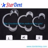 Retrattore di gomma sterile dentale a gettare della guancica della diga