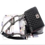 Sac à bandoulière sac Sling femmes Mini sac de la chaîne de treillis (GB#CE0610#)