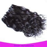 新しい来る豪華な100%実質のミンクのバージンのカンボジアの人間の毛髪