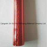 Hoja caliente del traspaso térmico de la lámina para gofrar del color rojo