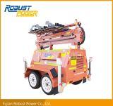 Tour d'éclairage mobile du modèle DEL de mine avec le réservoir de carburant 270L