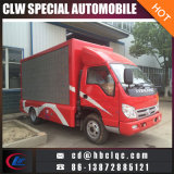 중국 공장 판매 이동할 수 있는 광고 트럭 LED 옥외 광고 트럭