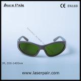Se divierte el tipo de gafas de seguridad de los anteojos de la protección de 200-1400nm IPL para IPL Machine/Ce En169 con el marco 55