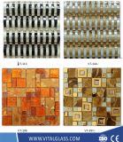 Glace/pierre/marbre/métal/lanterne/tuile de mosaïque en céramique pour des tuiles de mosaïque de salle de bains/d'étage piscine