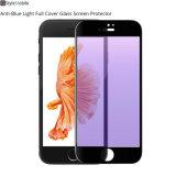 Protezione completa Anti-Blu dello schermo di vetro Tempered degli accessori del telefono mobile di riempimento dell'unità dell'indicatore luminoso 3D per il iPhone del Apple, iPhone 7 più