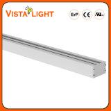 Illuminazione lineare bianca dell'indicatore luminoso di strisce dell'espulsione di alluminio LED per gli istituti universitari