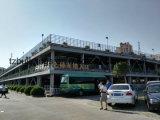 Estructura de acero de varios pisos Edificio de estacionamiento de coches