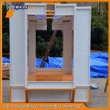 Edelstahl-manueller Puder-Beschichtung-Spray-Stand mit ersten Wiederanlauf-Systemen