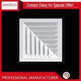 Aluminiumquadratische Diffuser- (Zerstäuber)klimaanlage der Decken-4-Way