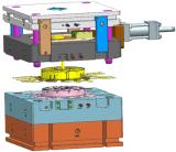 литье под давлением алюминия пресс-формы для кожуха электровентилятора системы охлаждения двигателя со стороны