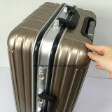 """工場は20を""""、24 """"、28 """"アルミニウムフレームの携帯用スーツケース、昇進のパソコン車輪が付いている物質的な旅行荷物袋作る"""