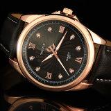 325 het waterdichte Polshorloge Van uitstekende kwaliteit van het Ontwerp van het Kristal van de Luxe van het Horloge van Mensen voor Verkoop