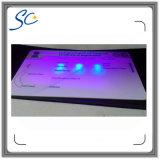 Tarjeta de PVC de impresión a todo color con pegatinas de holograma