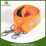 Les lanières d'identification de collet ont estampé le logo avec le double clip de bouledogue de crochet