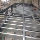 Vor ausgeführtes Stahlkonstruktion-Mezzanin-Gebäude mit beweglichem Rahmen