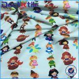 Il fumetto progetta il tessuto per il cliente di cotone stampato Digitahi dello Spandex