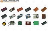 Kundenspezifische PU/PVC lederne hergestellte Bio-Gefaltete Geld-Mappe